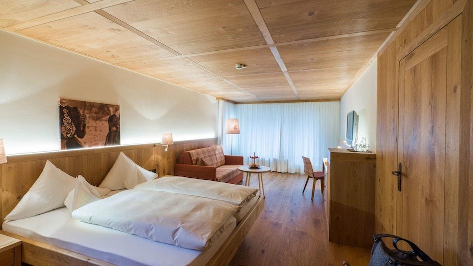 Superior chambre double chêne sauvage » Genießerhotel Montafoner Hof